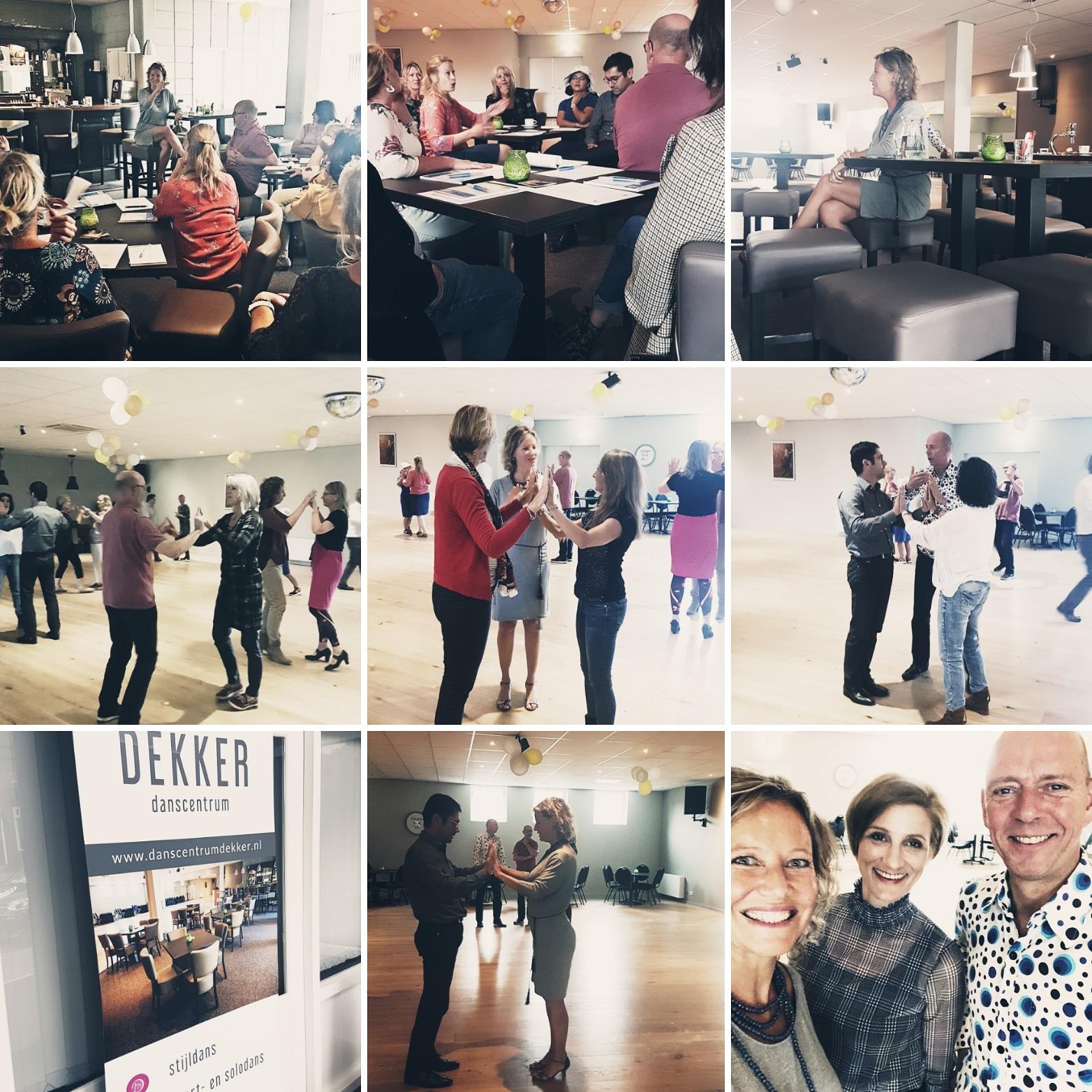 Gastcollege 'Geen excuses, dans je leven!' georganiseerd door Esther Jacobs en Anne Marie Westra in samenwerking met Danscentrum Dekker